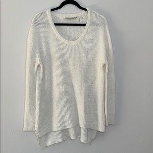 Soft surroundings chunky oversized tunic sweater m